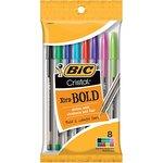Pen Bic Cristal 8pk Xtra Bold Fashion