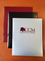 CCM Tree Logo Folder Black