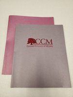 RS CCM TREE PAPER FOLDER MAROON 2-PKT