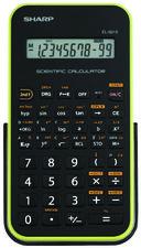 Sharp EL-531TGB Scientific Calculator - Black