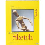 Strathmore Sketch Pad 18x24, Spiral